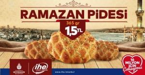 İBB PİDESİNDE GRAMAJ AYNI FİYAT 1,5 LİRA