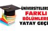 Üniversitenin Bölümleri Arasında Yatay Geçiş Nasıl Yapılır 2015