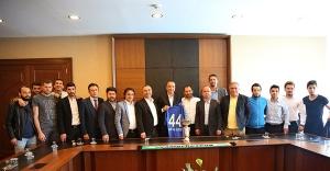 Çamolukspor'dan Başkan Battal İlgezdi'ye ziyaret