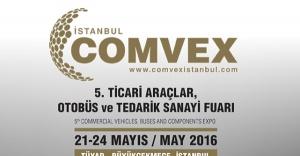 COMVEX Ticari Araçlar 21-24 Mayıs 2016 tarihlerinde kapılarını açacak