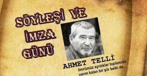 """""""Ahmet Telli ile İmza ve Söyleşi"""""""