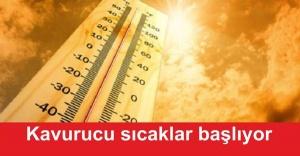 İstanbul'da Kavurucu sıcaklar başlıyor