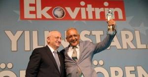 Kaptan Mustafa CAN İş Dünyası Onur Ödülünü Aldı