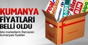 Ramazan Ayı Kumanya Paketleri 2016