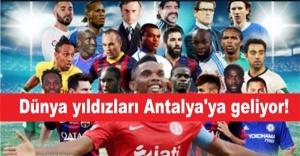 Dünya yıldızları Antalya'ya geliyor!