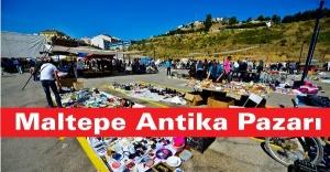 Maltepe Antika Pazarı göz dolduruyor