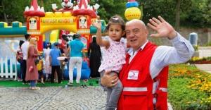 Suriyeli mülteciler bayramda moral buldu