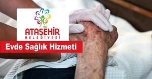 Ataşehir Belediyesin'den Evde Sağlık Hizmeti