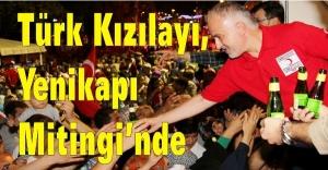 Türk Kızılayı, Yenikapı Mitingi'nde