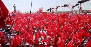 Yenikapı Demokrasi ve Şehitler Mitingi canl izle