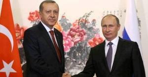 Cumhurbaşkanı Erdoğan, Rusya Devlet Başkanı Putin ile Görüştü