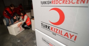 Kızılay'dan terör mağduru ailelere bayram yardımı