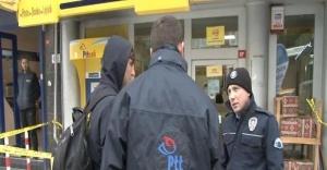 Ataşehir'de falçata ile PTT soygunu