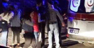Ataşehir'de Trafik kazası sonrası bıçaklı kavga