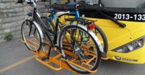 İstanbul'da İETT ile Bisikletle Yolculuk