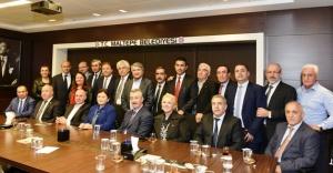 Maltepeli muhtarlardan Başkan Kılıç'a ziyaret