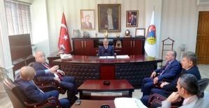 İstanbul Çankırılılar Vakfından Başkan Dinç'e Ziyaret
