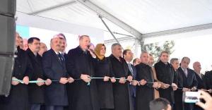 Başkan Ali Kılıç Erdoğan'la açılışta biraraya geldi