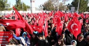 Diyarbakır'da Terör Protestosu