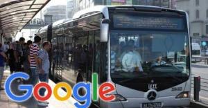 Google Transit artık Türkiye'de