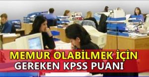 KPSS'de Kaç Puanla Memur Olunur