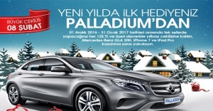 Palladium Ataşehir'de yılbaşı kampanyası!