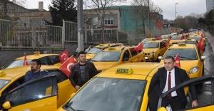 Taksicilerden İstanbul'daki terör saldırısına tepki