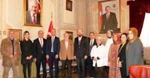 Bilal Erdoğan Darülaceze Başkanlığı'nı ziyaret etti