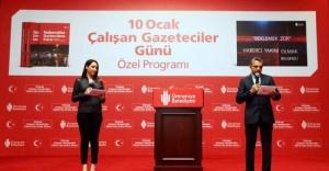 Çalışan Gazeteciler Ümraniye Belediyesinin Ev Sahipliğinde Bir Araya Geldi