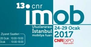 CNR İMOB 24 Ocak'ta başlıyor