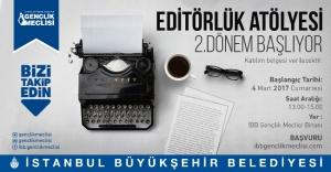 Editörlük Atölyesi'nde 2. Dönem Başlıyor