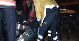 Ataşehir'de görme engelli vatandaş, kapağı olmayan rögara düştü