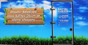 Ataşehir'in Havası İzleniyor