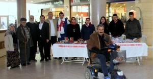 Çankırı'da Engelliler El Emeği Ürünleri Sergisi Açtı