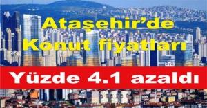 Ataşehir'de Konut fiyatları yüzde 4.1 azaldı