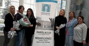 8 Mart Kadınlar Gününde  AYEDER'den Darülaceze'ye Ziyaret