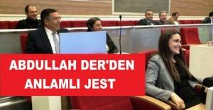 ABDULLAH DER'DEN ANLAMLI JEST