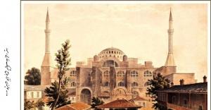 Ayasofya ve İstanbul resimleri 162 yıl sonra yeniden basıldı