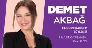 Demet Akbağ'dan Ataşehir'de Özel Söyleşi