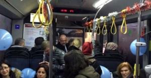 İETT şoförü, mesleğe yolcularıyla birlikte veda etti