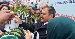 Veysel Eroğlu: İstanbul'da diktiğimiz fidan sayısı 20 milyonu aştı