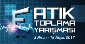 ATAŞEHİR'DE E-ATIK TOPLAMA YARIŞMASI