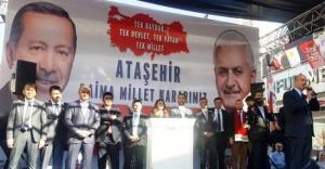 İçişleri Bakanı Soylu Ataşehirlilerle buluştu