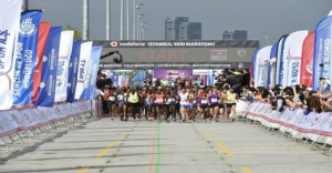 İstanbul Yarı Maratonu Pazar günü koşulacak
