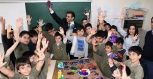 Hepsi Bir İnci projesi: Cerebral Palsy'li öğrencilerin kaynaştırma etkinliği