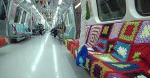 İstanbul'da  Metrolara anne eli değdi