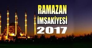 İstanbul İftar Saatleri (Ramazan İmsakiyesi 2017)