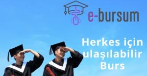 """""""E-Bursum"""" Türkiye'deki burs sistemini dijitalleştiriyor!"""