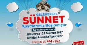 Ümraniye Belediyesi Geleneksel Sünnet Kayıtları Başladı