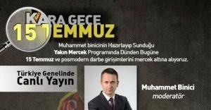 15 Temmuz, Kara Gece, Ataşehir'de Söyleşi